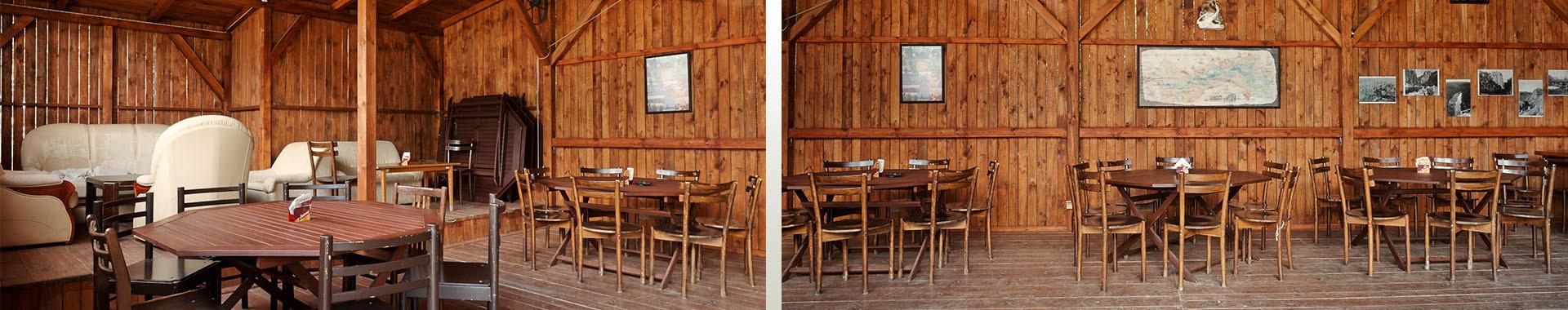 camp Borovinka - restaurace v přírodě